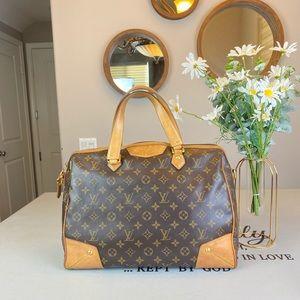 Louis Vuitton Monogram Canvas Handbag Satchel